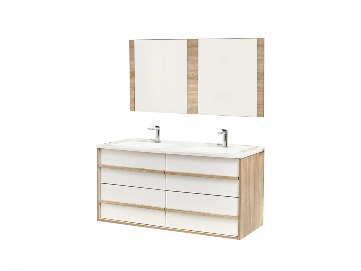 Meuble de salle de bain 120 cm MAHO