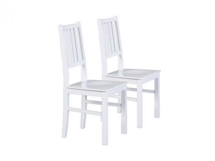 Lot de 2 chaises de table WINTERLAND Bois massif