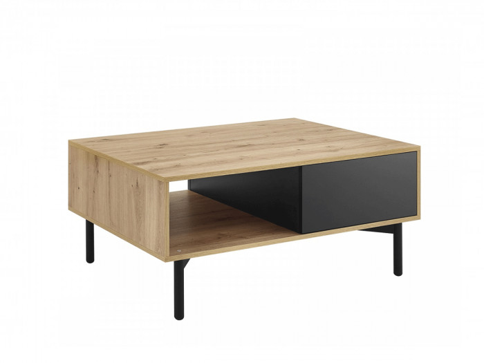 Table basse FOLOW Chêne et Noir