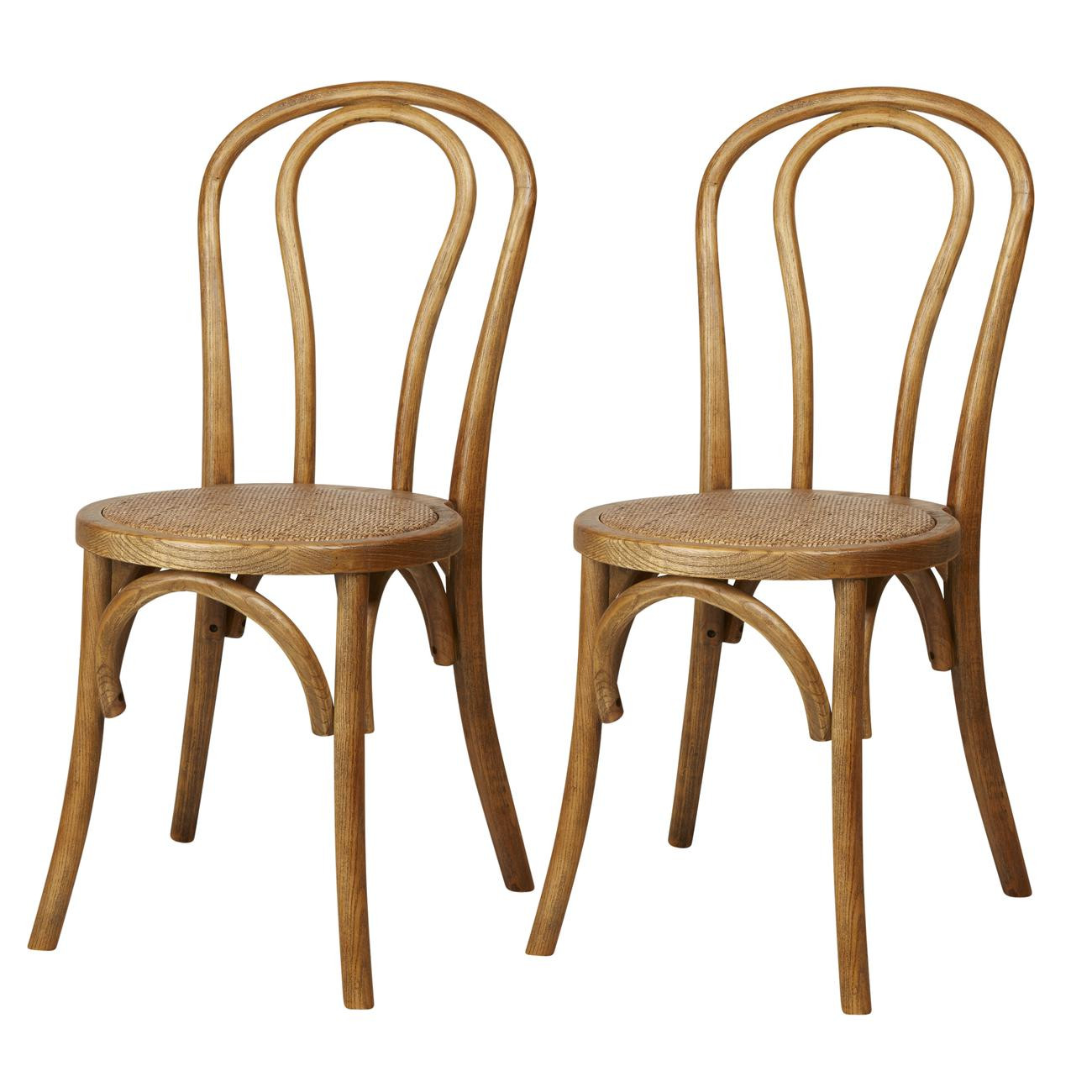 Lot de 2 chaises MONTMARTRE