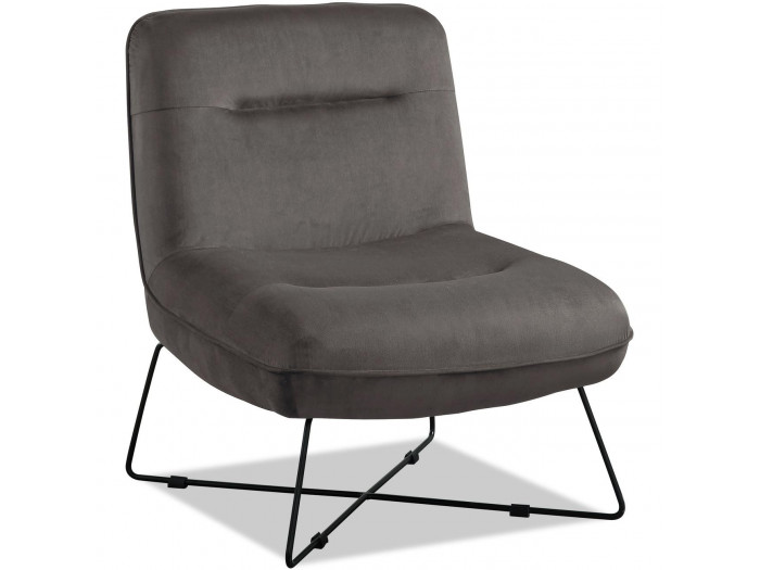 Fauteuil WESTROAD gris anthracite