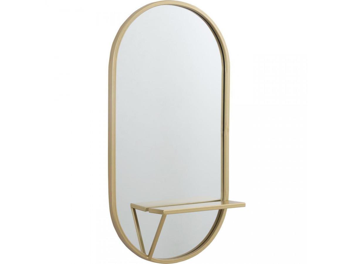 Miroir ovale Dublin5
