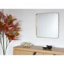 Miroir et tendance de forme rectangulairee en aluminium Coco5