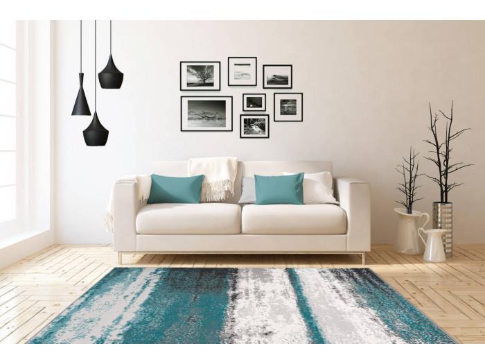 Tapis LUCIO Bleu 80cm x 150cm1