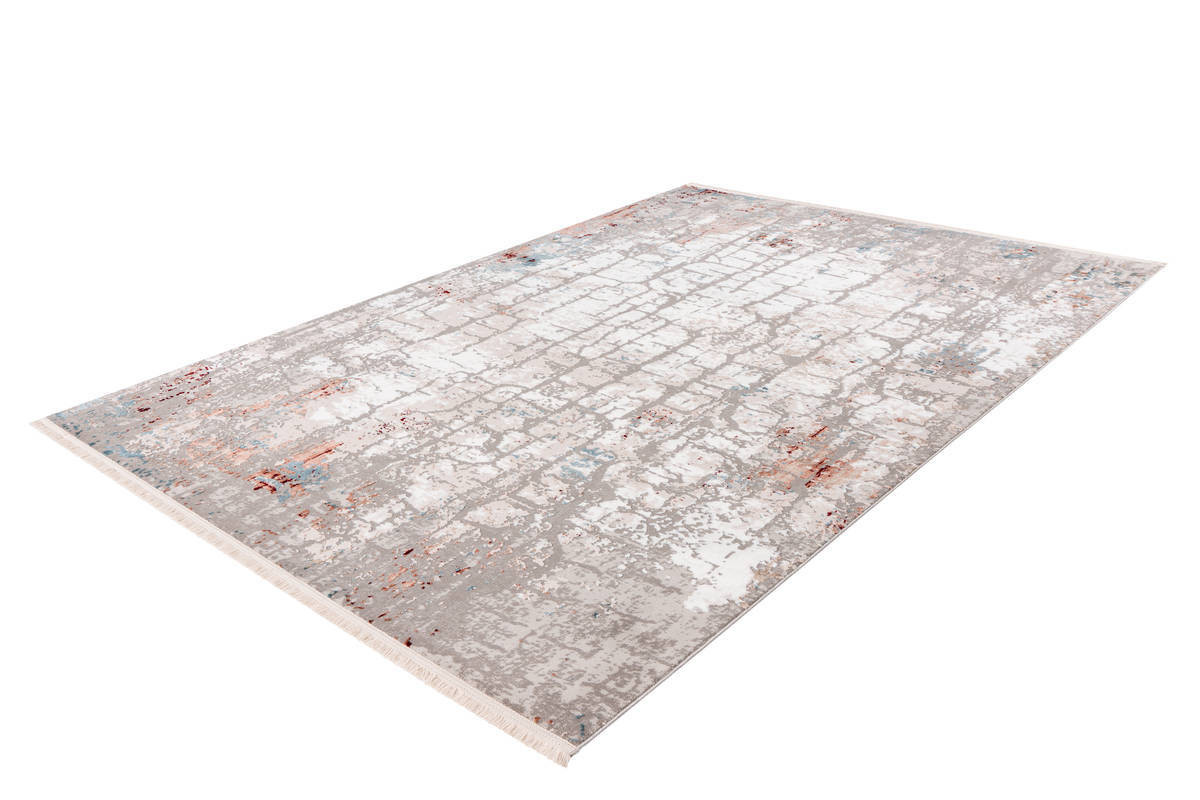 Tapis ARROW Gris / Rose saumon 80cm x 150cm2