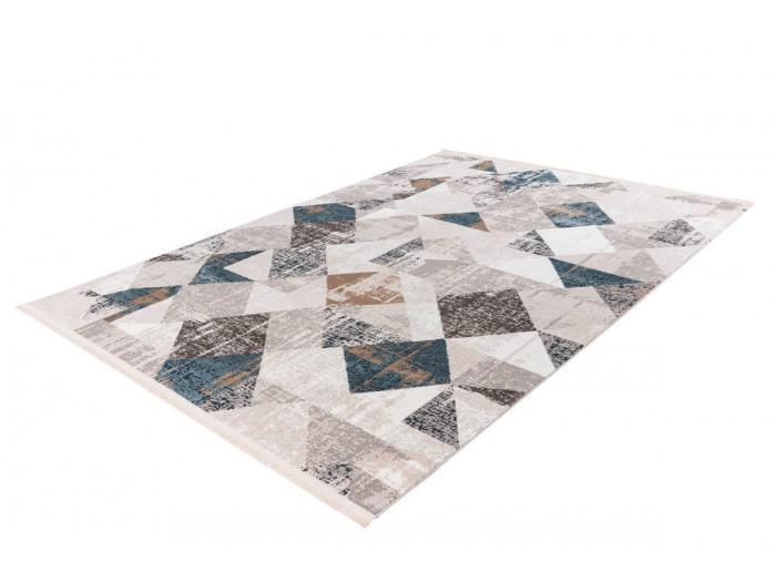 Tapis LORI Gris / Bleu 160cm x 230cm