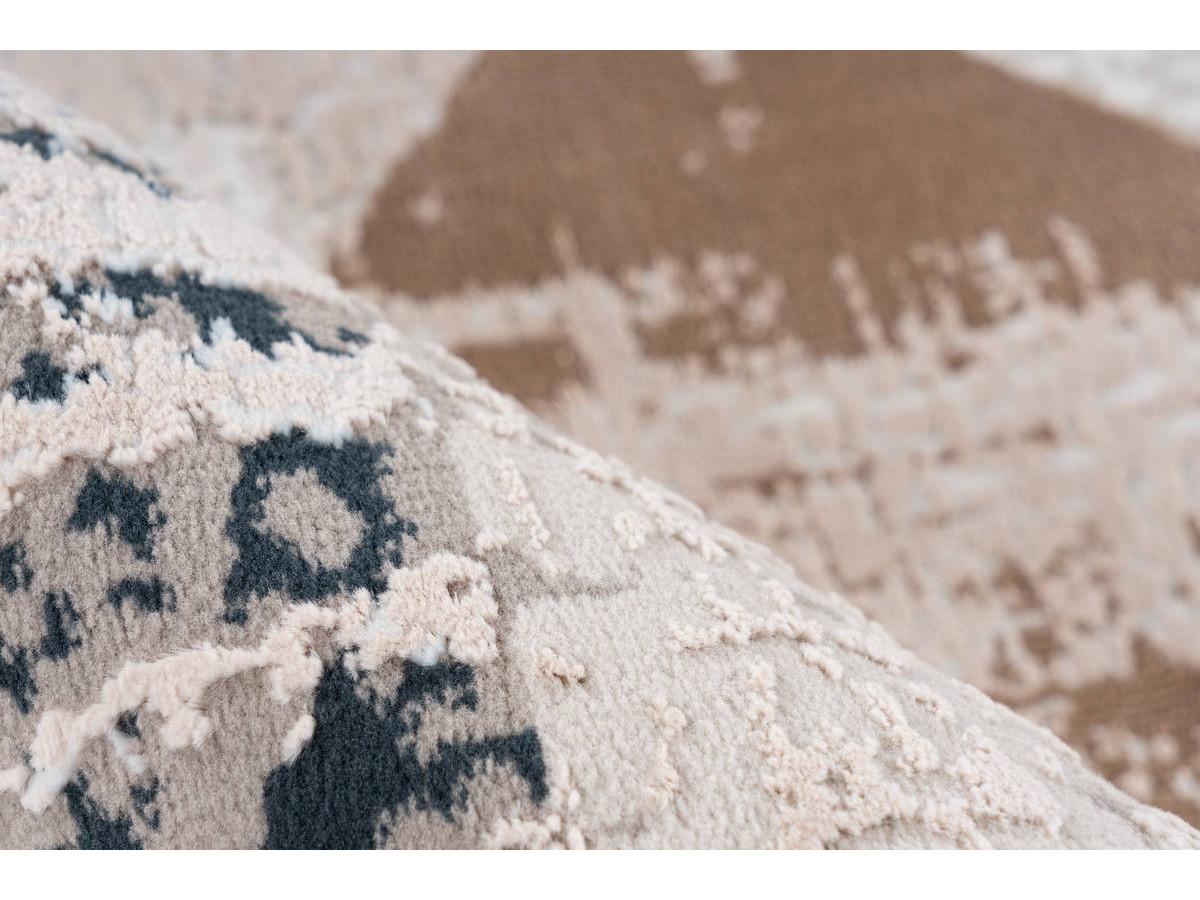 Tapis LORI Gris / Bleu 200cm x 300cm4