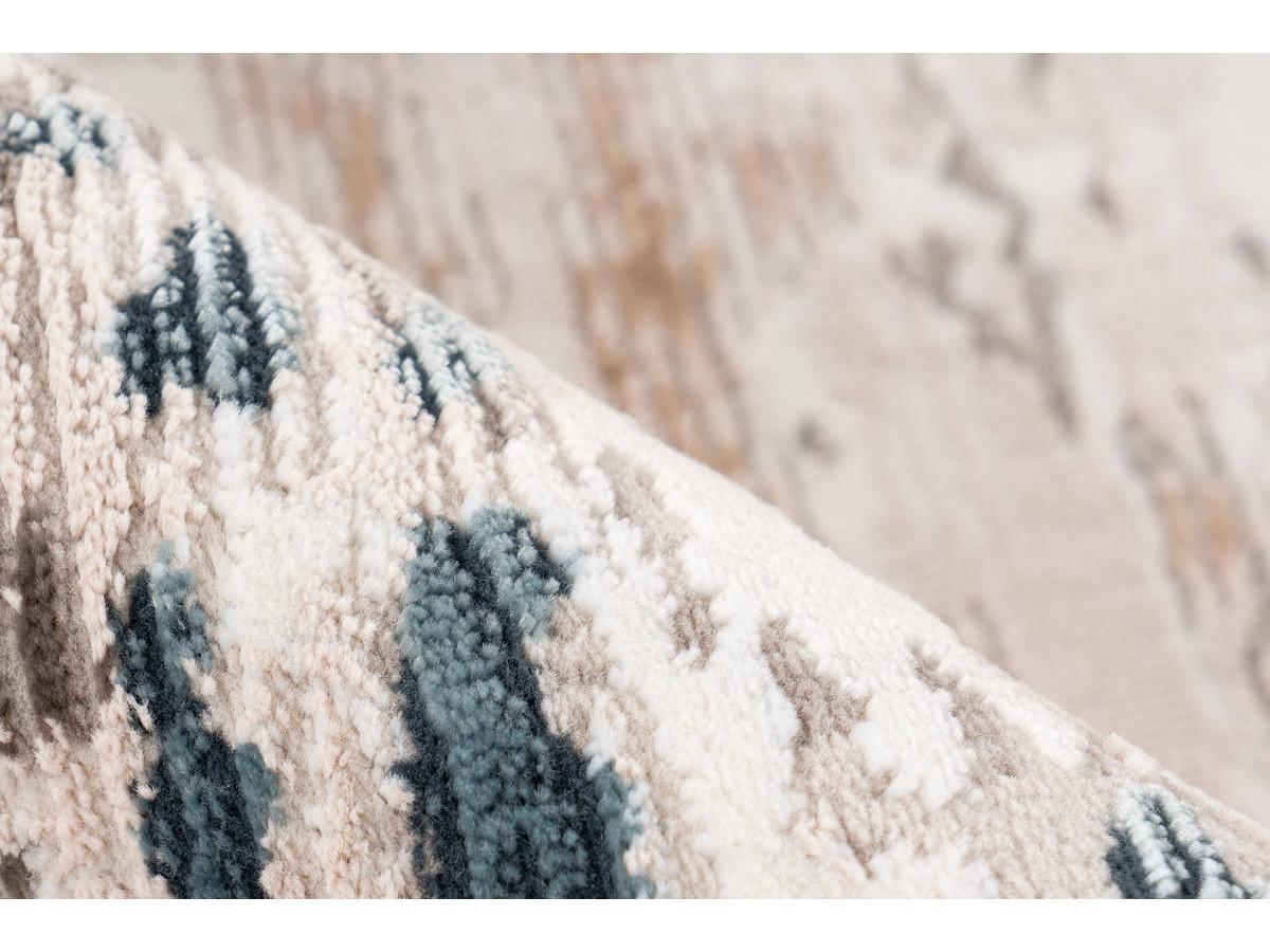 Tapis TORI Gris / Bleu 200cm x 300cm4