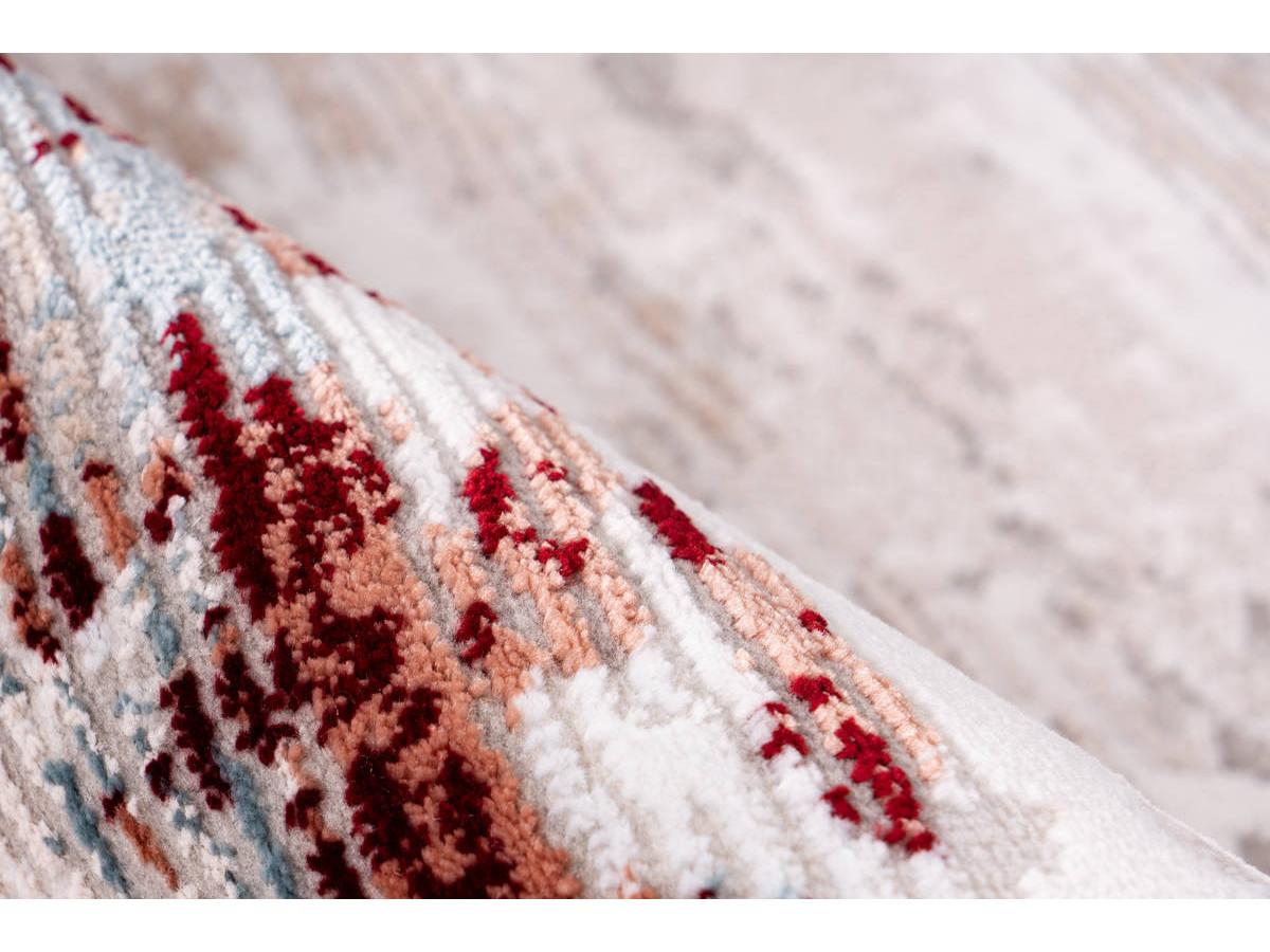 Tapis TORI Gris / Rose saumon 120cm x 180cm4
