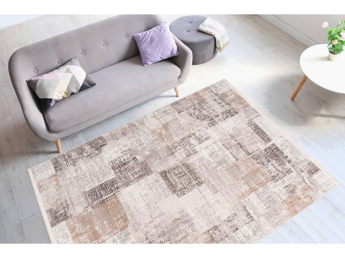 Tapis ZINEB Gris / Argenté 80cm x 150cm1