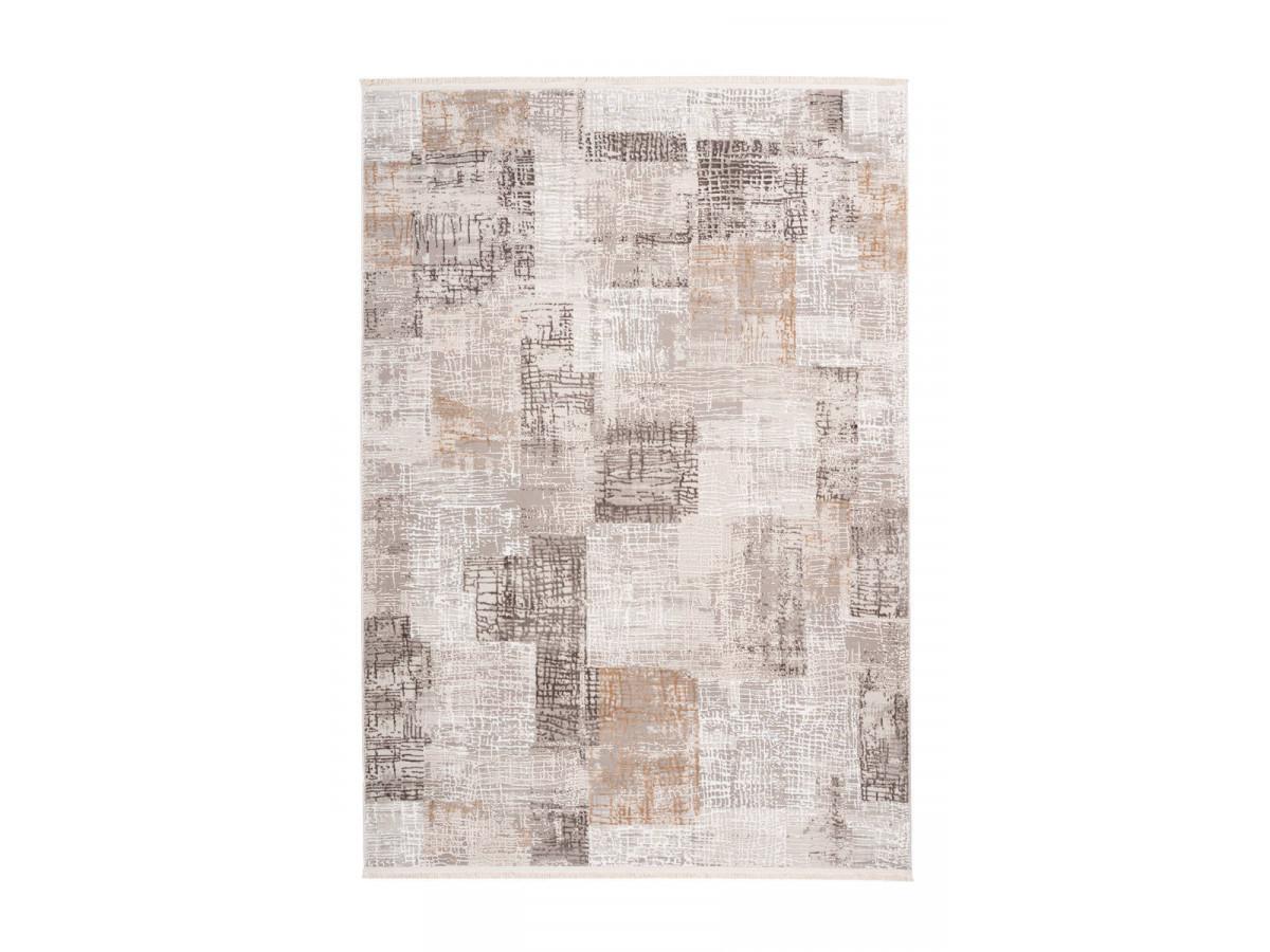 Tapis ZINEB Gris / Argenté 80cm x 150cm3