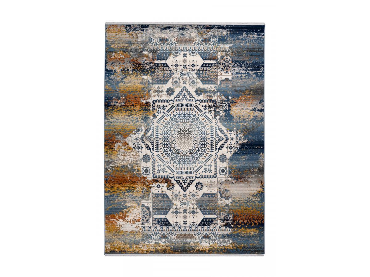 Tapis VIKI Multicolor / Bleu 80cm x 150cm3