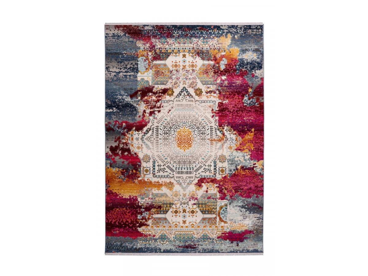 Tapis VIKI Multicolor / Rouge 160cm x 230cm3