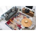 Tapis VIKI Multicolor / Rouge 80cm x 150cm1