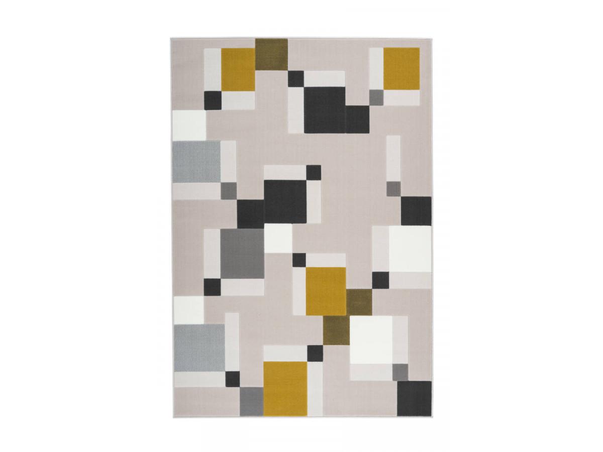 Tapis LUCIO Crème /Vert 160cm x 230cm3