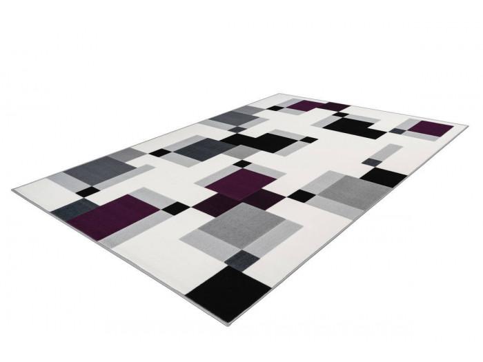 Tapis LUCIO Ivoire / Violet 160cm x 230cm
