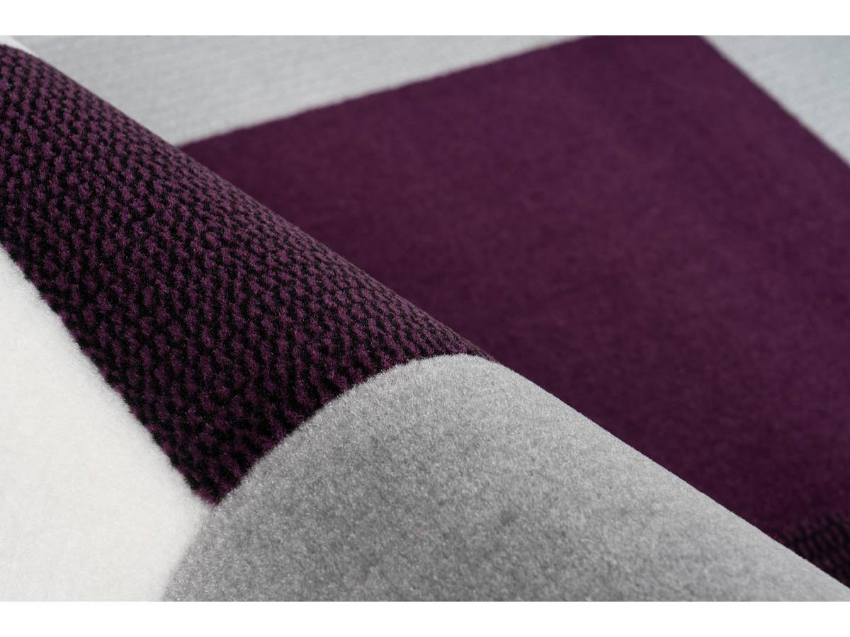 Tapis LUCIO Ivoire / Violet 160cm x 230cm4