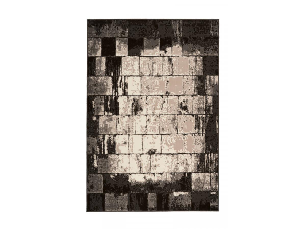 Tapis LUCIO Crème / Marron 80cm x 150cm3
