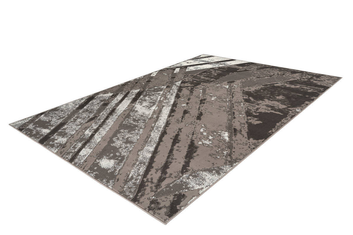 Tapis LUCIO Gris / Crème 120cm x 170cm2