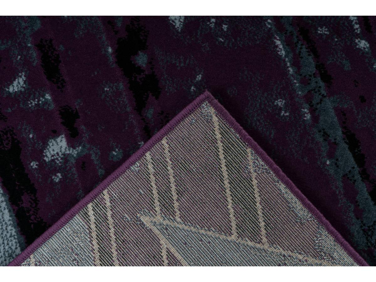 Tapis LUCIO Gris / Violet 200cm x 290cm5
