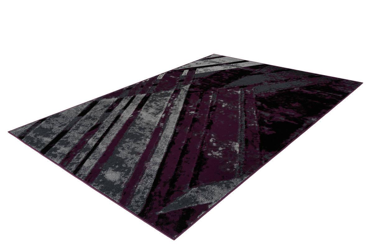 Tapis LUCIO Gris / Violet 80cm x 150cm2