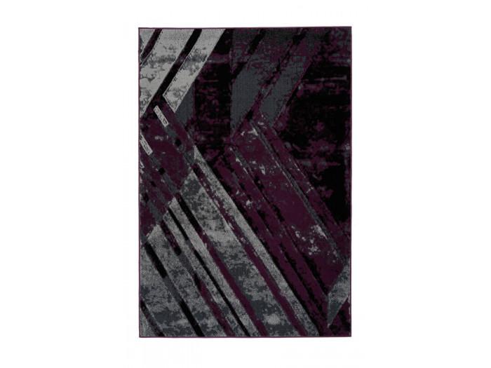 Tapis LUCIO Gris / Violet 80cm x 150cm3