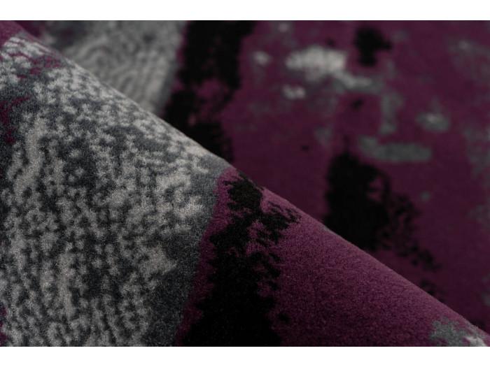 Tapis LUCIO Gris / Violet 80cm x 150cm4