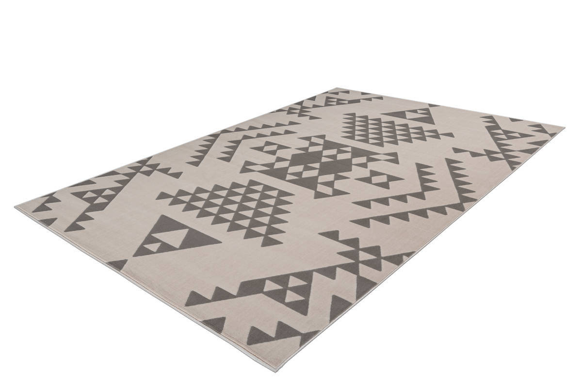 Tapis ZIKA Crème / Taupe 160cm x 230cm2
