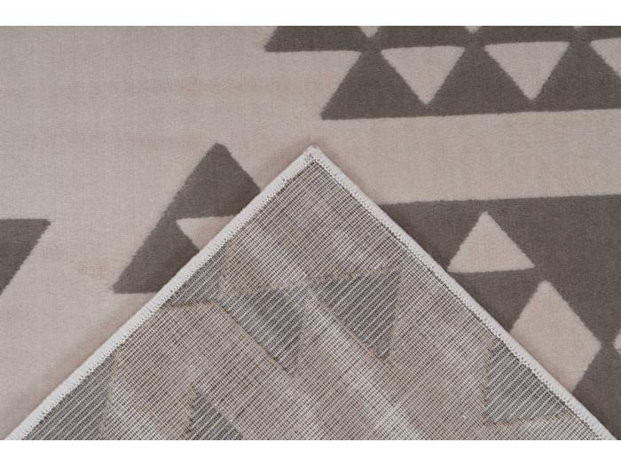 Tapis ZIKA Crème / Taupe 200cm x 290cm5