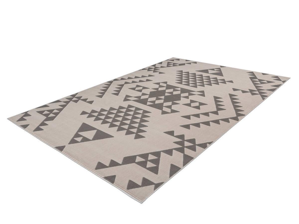 Tapis ZIKA Crème / Taupe 80cm x 150cm