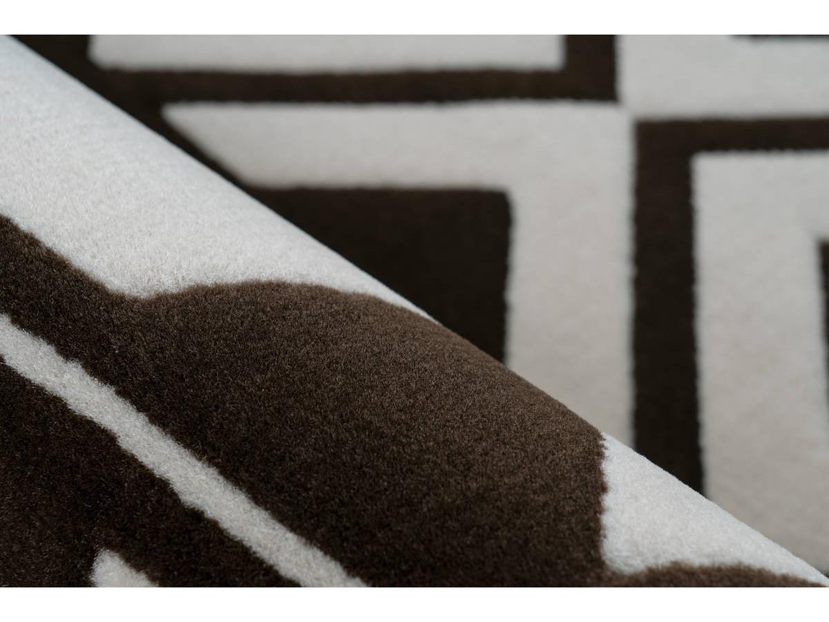 Tapis SAFI Marron / Crème 160cm x 230cm4