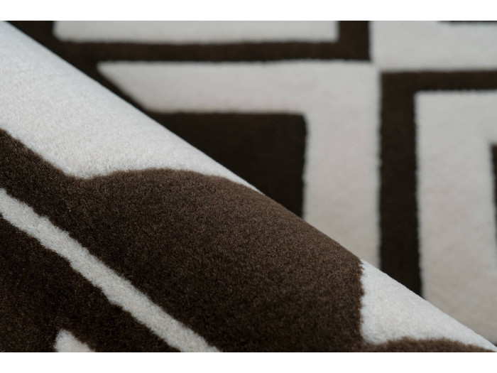 Tapis SAFI Marron / Crème 200cm x 290cm4