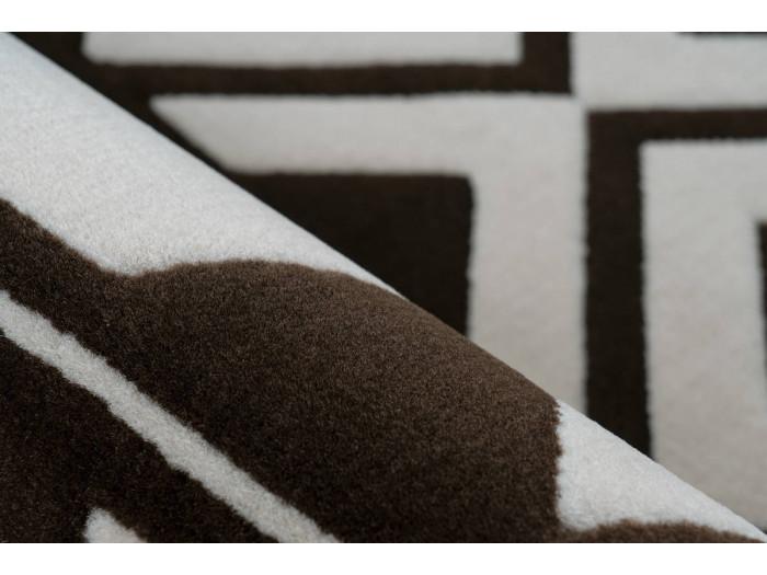Tapis SAFI Marron / Crème 80cm x 150cm4