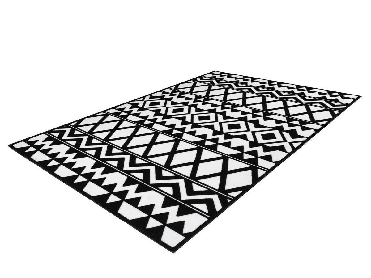 Tapis SAFI Noir / Blanc 160cm x 230cm