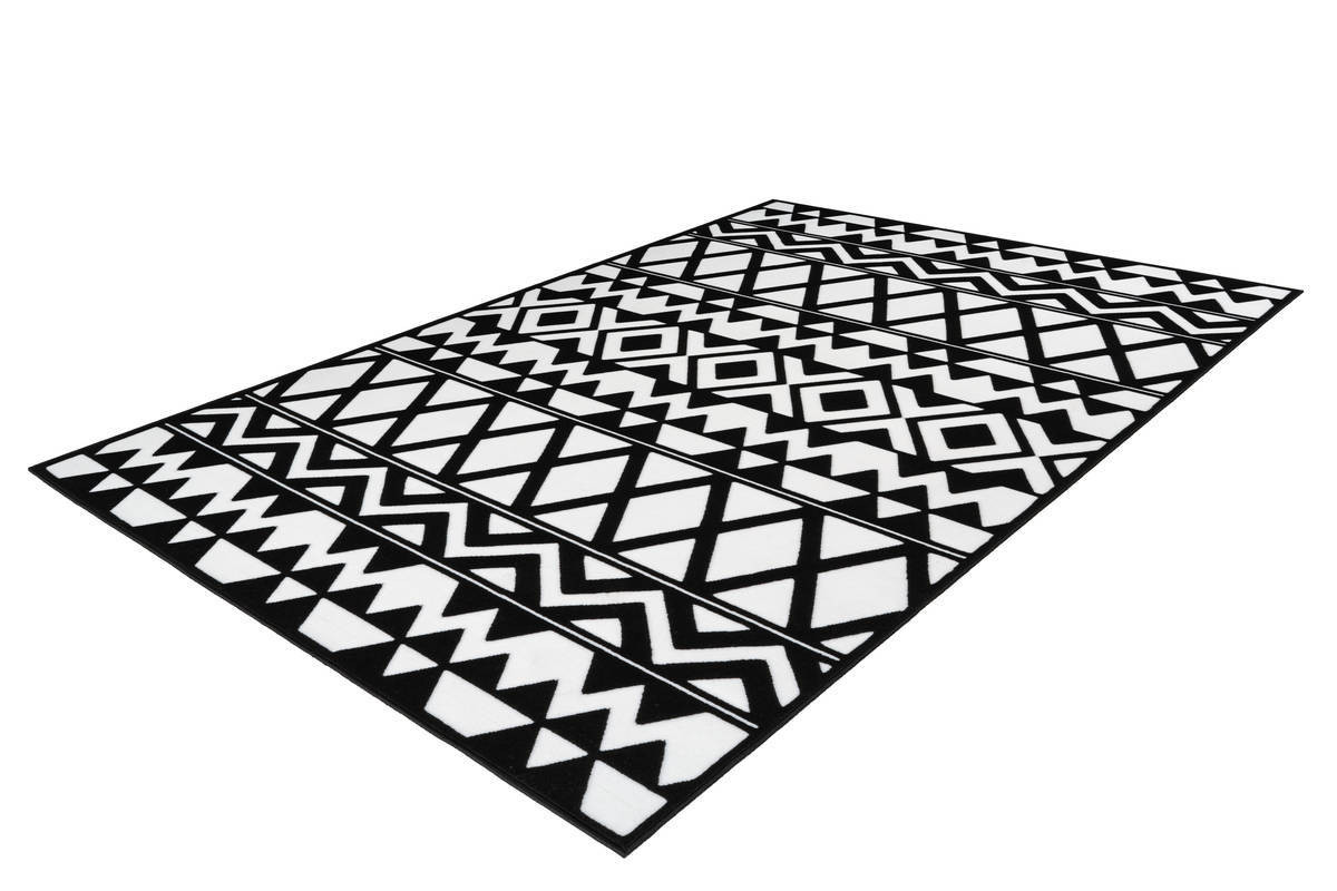 Tapis SAFI Noir / Blanc 200cm x 290cm2