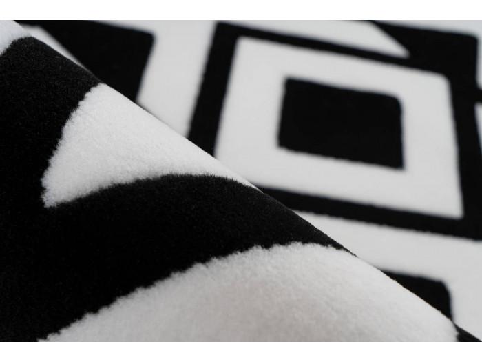 Tapis SAFI Noir / Blanc 200cm x 290cm4