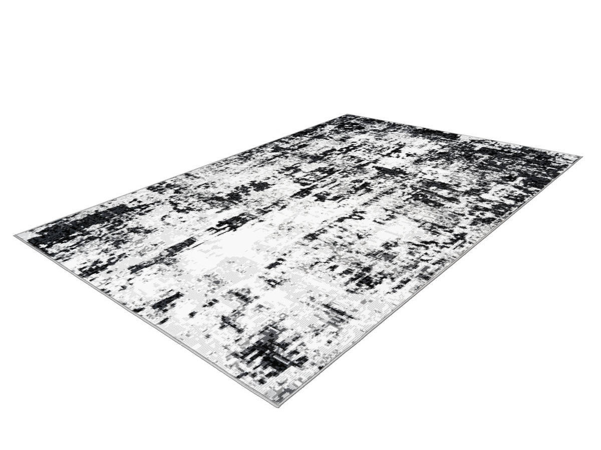 Tapis SANTOR Gris / Blanc 120cm x 170cm2