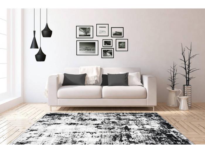 Tapis SANTOR Gris / Blanc 200cm x 290cm1