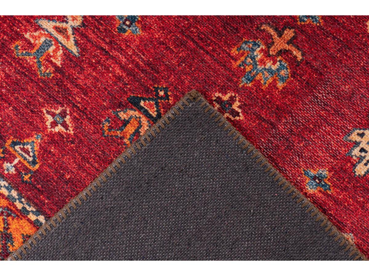 Tapis ASSA Multicolor / Rouge 80cm x 150cm5