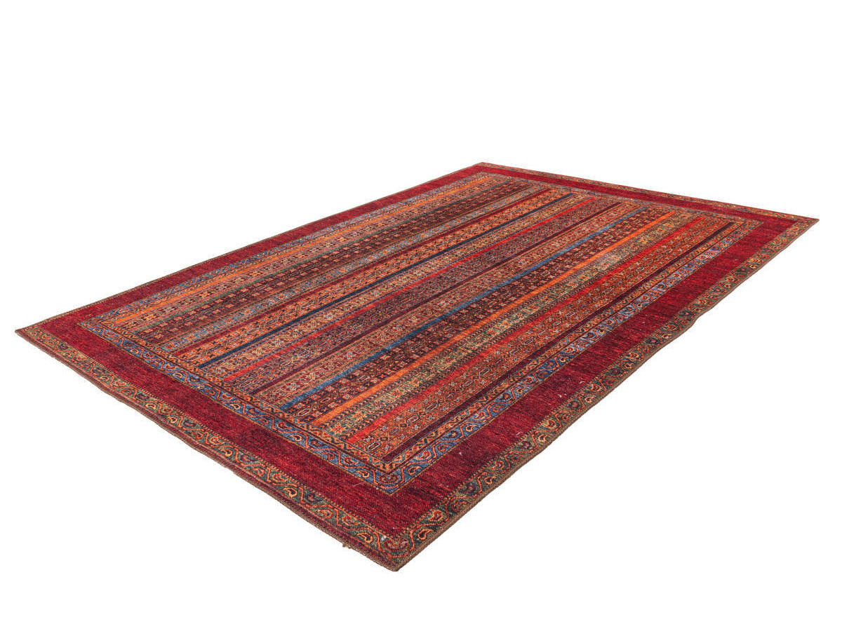 Tapis ASSA 2 Multicolor / Rouge 80cm x 150cm
