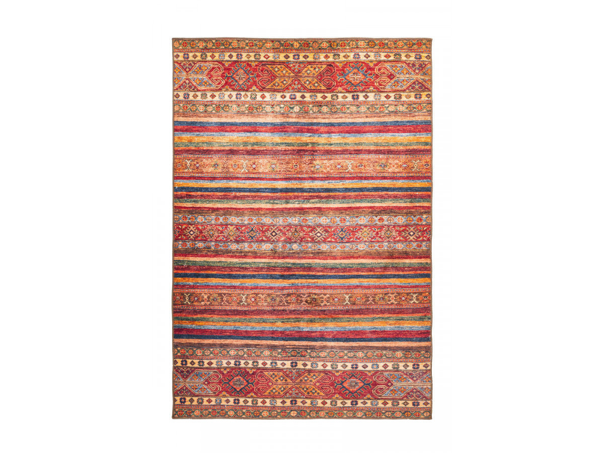 Tapis ASSA 3 Multicolor / Rouge 160cm x 230cm3