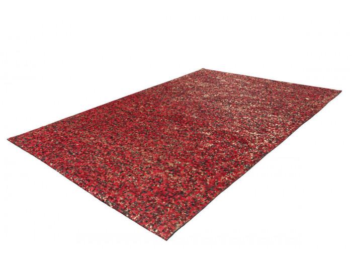 Tapis TORI Rouge / Doré 80cm x 150cm