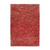 Tapis TORI Rouge / Doré 80cm x 150cm3