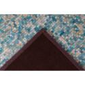 Tapis TORI Turquoise / Doré 120cm x 170cm5
