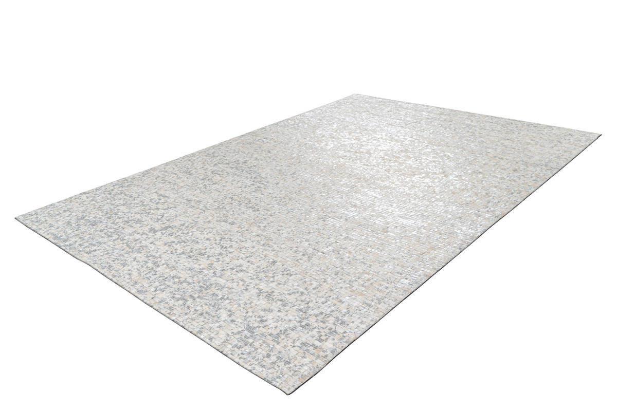 Tapis TORI Blanc/ Argenté 120cm x 170cm2