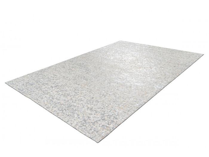 Tapis TORI Blanc/ Argenté 80cm x 150cm