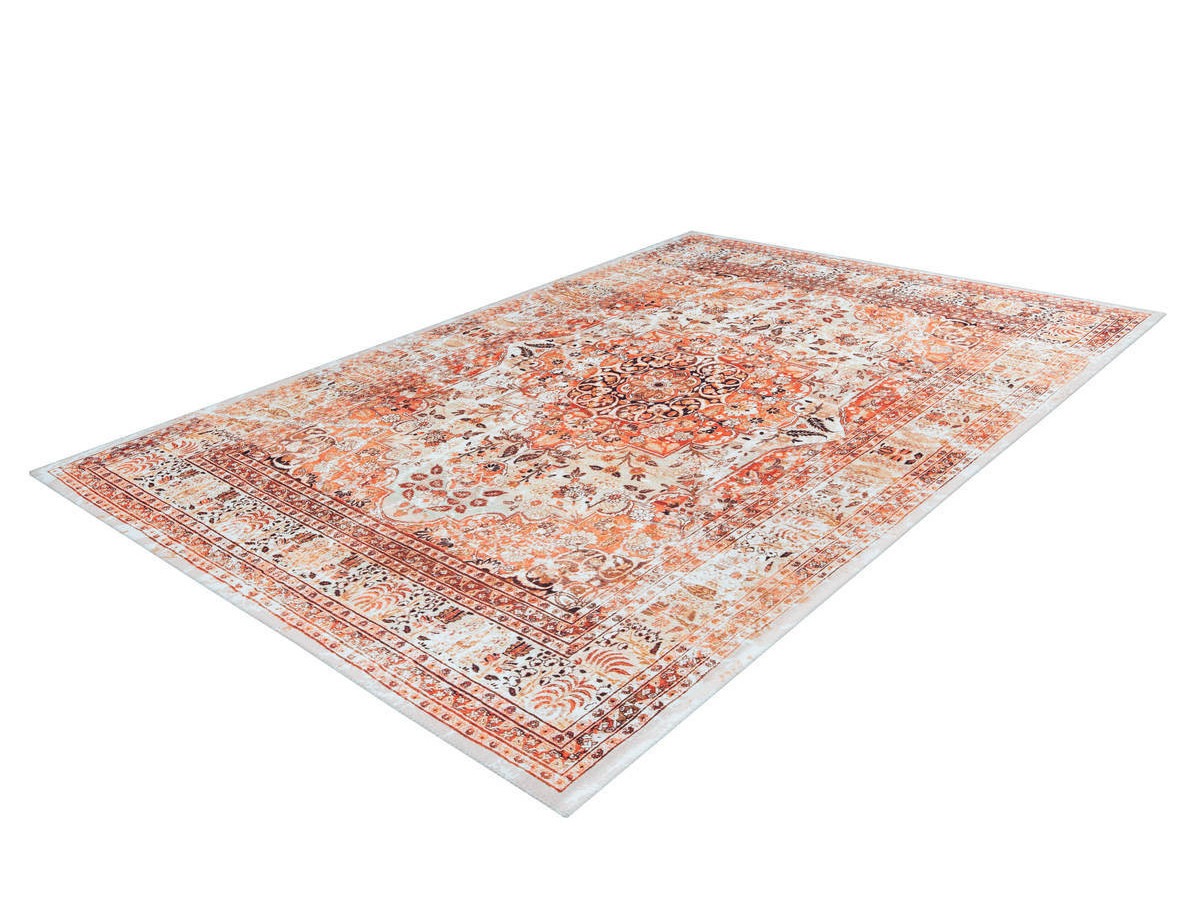 Tapis IDELIA Orange / Beige 120cm x 180cm