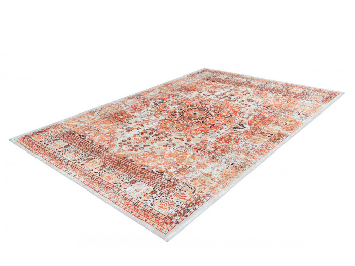 Tapis IDELIA Orange / Beige 170cm x 240cm