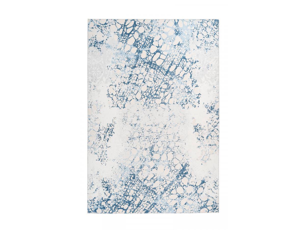 Tapis IDELIA Crème / Bleu 170cm x 240cm3