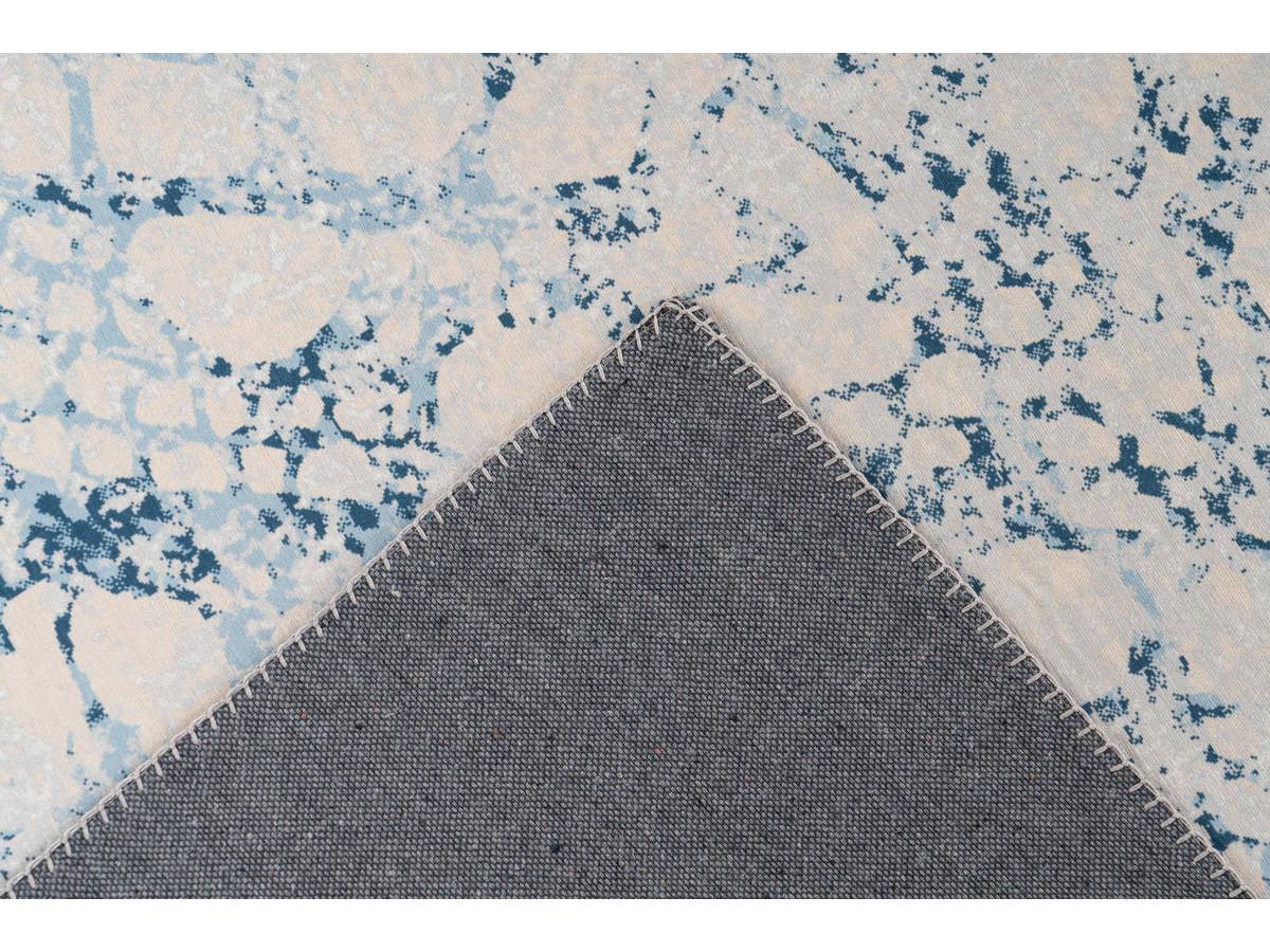 Tapis IDELIA Crème / Bleu 200cm x 290cm5